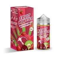 Fruit monster Strawberry kiwi pomegranate 100мл 3мг