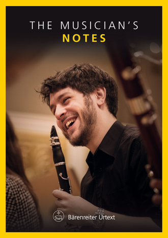 Нотная тетрадь Baerenreiter The Musician's Notes