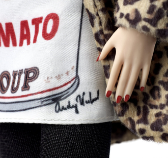 Барби Энди Уорхол Barbie Andy Warhol Campbell's Soup