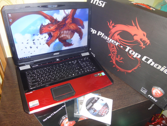 MSI GT70 2OD DOMINATOR PRO - Dragon Edition