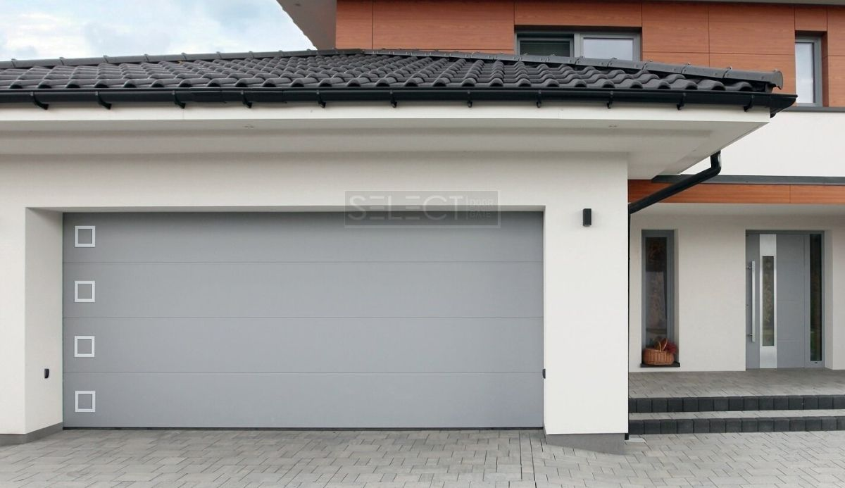 стоимость ворот на гараж - сделать замер гаражных ворот под ключ