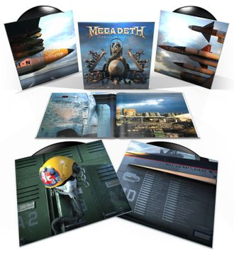 Megadeth - Warheads On Foreheads 4-LP BOX