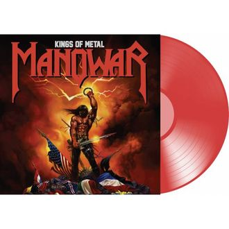 Manowar - Kings Of Metal LP RED