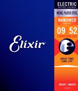 Elixir Nanoweb 9-52 12007 Super Light