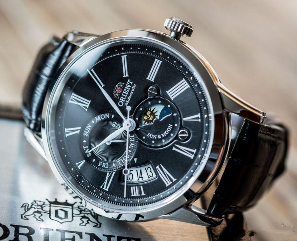 34e24c43 Мужские японские механические наручные часы Orient AK00004B купить в ...