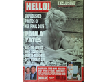 HELLO! Magazine Issue 638 21 November 2000 Paula Yates, Harrison Ford, Иностранные журналы,Intpress