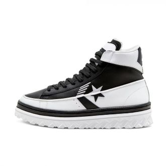 Кеды Converse высокие Pro Leather X2 Rivals черно-белые