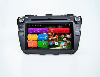 Автомагнитола MegaZvuk T8-7064 Kia Sorento Restyle (XM) (2012-2017) на Android 8.1.0 Octa-Core (8 ядер) 7""