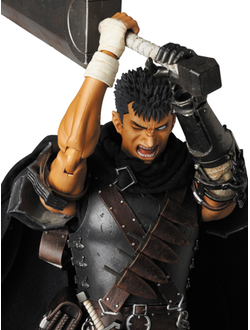 Кукла 1/6 Real Action Heroes Гатс (Guts The Black Swordsman Ver.)