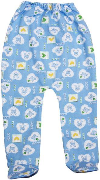 Ползунки ясельные (Артикул 623-043) цвет голубой