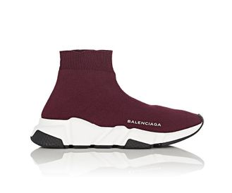 Balenciaga Speed trainer Бордовые