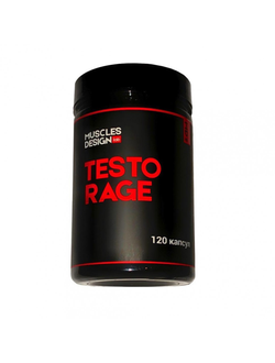 Тестобустер Muscle Design Lab Testo Rage 120 caps