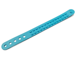 Bracelet, Dots 2 Studs Wide, Medium Azure (66821)