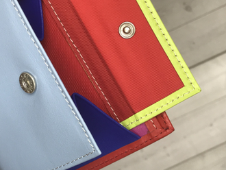 Портмоне QOPER Bifold red-rainbow