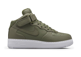 Nike Air Force 1 Mid Olive Green женские зеленые (36-40)