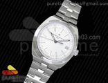 Overseas Automatic SS White Dial