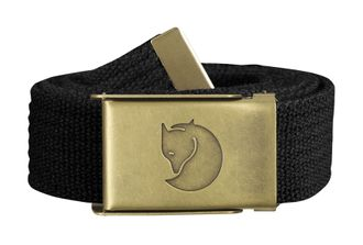 Fjallraven Canvas Belt 3 cm Black