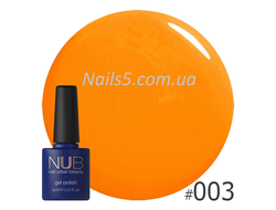 Гель-лак NUB Hot Fruit 003