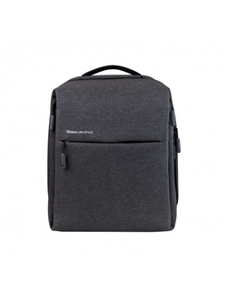 Рюкзак Xiaomi Minimalist Urban Backpack чёрный