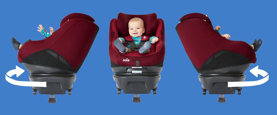 Joie Spin 360 - Невероятный комфорт в эксплуатации с высоким уровнем безопасности.