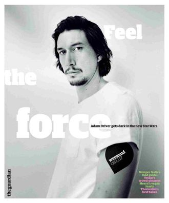 The Guardian Weekend Magazine 9 December 2017 Adam Driver, Star Wars Cover Иностранные зарубежные жу