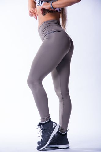 ЛЕГГИНСЫ HIGH WAIST SCRUNCH BUTT LEGGINGS 604 Мокко