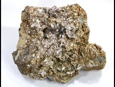 Мусковит, Лепидолит, кристаллы на породе, Россия, Урал  (195*165*85 мм, 3100 г) №16931