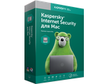 Kaspersky Internet Security для Mac - новая лицензия для 1 компьютера на 1 год ( электронная лицензия, KL1230RDAFS )