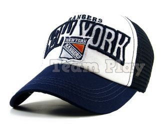 Бейсболка New York Rangers с сеткой