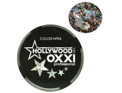 Глитерный гель OXXI Professional Hollywood №6, 5гр