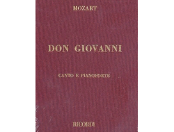 Mozart Don Giovanni, Vocal Score
