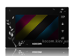 Видеодомофон Kocom KCV-A374SD black