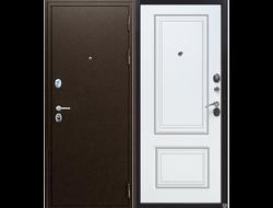 Входная дверь ТОЛСТЯК РФ 10 см БЕЛЫЙ ЯСЕНЬ