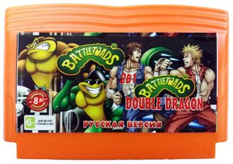 Сборник 2 в 1 (BattleToads и BattleToads and Double Dragon)