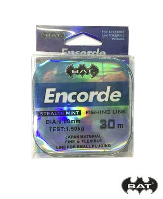 Леска BAT ENCORDE 30м.\0,12 (монофил)