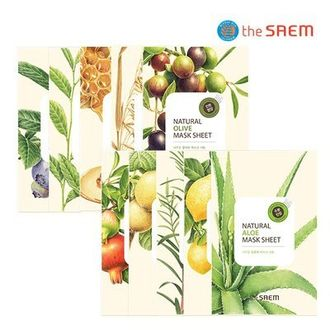 Маска тканевая Natural Mask Sheet  THE SAEM