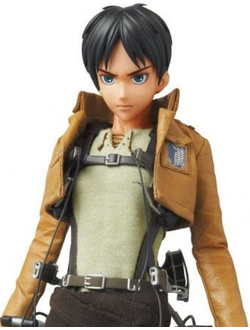 Кукла 1/6 Real Action Heroes EREN JAEGER (ЭРЕН ДЖАГЕР)