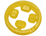 Rock Infinity Stone, 4 on Sprue, Trans-Yellow (36451c01 / 6223002 / 6294243)