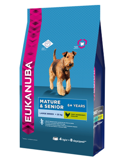 Eukanuba Dog    / ЭУКАНУБА корм для пожилых собак крупных пород