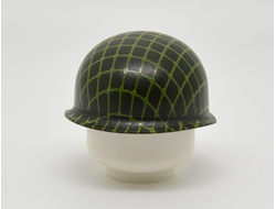 WW2 M1 POT HELMET WITH NETTING OD GREEN