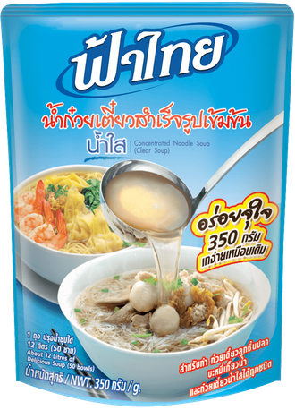 Concentrated Noodle Soup (Clear soup) Fa Thai 350 g