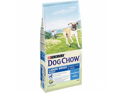 DOG CHOW ADULT СУХОЙ КОРМ ДЛЯ СОБАК КРУПНЫХ ПОРОД, ИНДЕЙКА 14 КГ