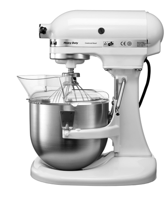 Миксер профессиональный KitchenAid Heavy Duty, чаша 4,8 л., белый, 5KPM5EWH