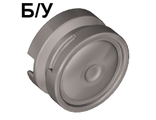 ! Б/У - Wheel 11mm D. x 6mm with Smooth Hubcap, Flat Silver (93594 / 4624473) - Б/У