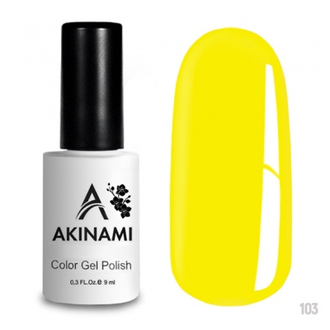 Akinami Bright Yellow AСG103, 9 мл