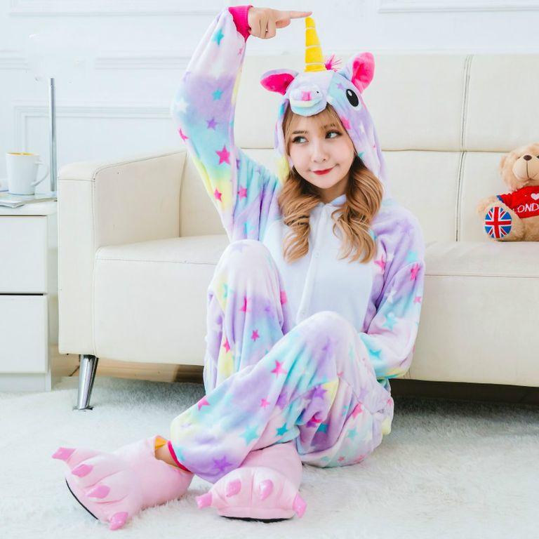 Пижамы - Кигуруми Радужный единорог 6e6d6c09ab7b6