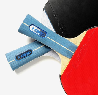 Ракетка для настольного тенниса Xiaomi AND1 table tennis racket YD606GP1 hollow handle horizontal shot
