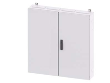 8GK1133-5KA42 ALPHA 400, wall-mounted cabinet, IP55, Protection class 2, H: 1100 mm, W: 1050 mm, T: 210 mm, RAL 9016