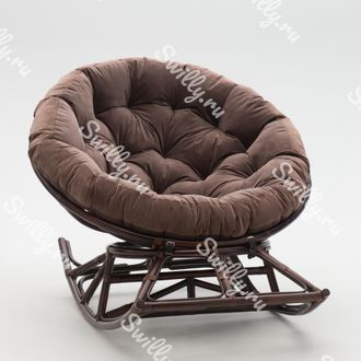 Кресло Swilly Rocker Papasan 4 орех