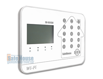 GSM/WIFI сигнализация SH-061GW/white (Photo-02)_gsmohrana.com.ua
